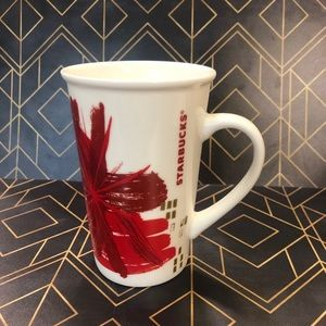 Starbucks Holiday 2014 Red Gold Mug